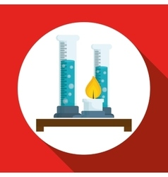 Science design research concept chemistry vector