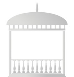 rotunda arbor vector image
