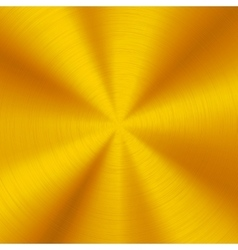 Gold Technology Metal Background vector image