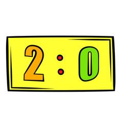 score icon icon cartoon vector image