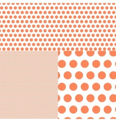 Polish polka dot abstract background vector