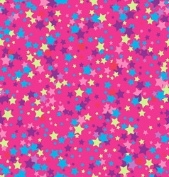 Seamless background with stars vector