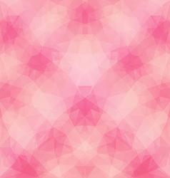 Light pink polygonal pattern vector