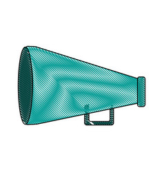 megaphone icon imag vector image
