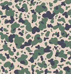 Military camouflage textile pattern vector