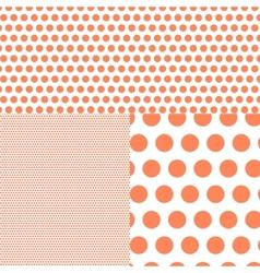 Polish polka dot abstract background vector image