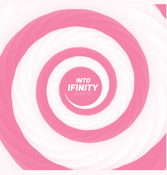 Into infinity geometry abstract vector