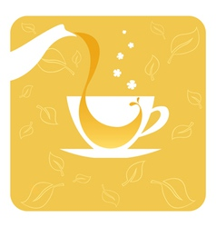 Cup of tea vector
