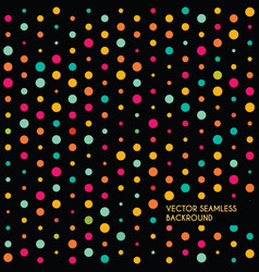 Abstract dotted seamless backround vector