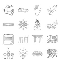 country crop maintenance and other web icon in vector image vector image
