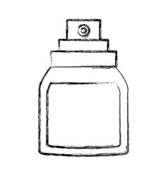 Fragrance bottle isolated vector