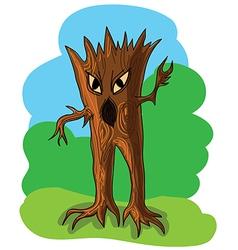Wood goblin vector