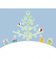 cute Christmas vector image