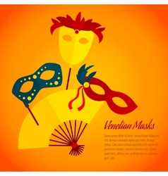 Carnival icon flat poster print vector