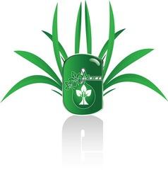 GREEN C n vector image