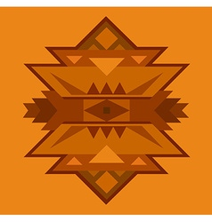 Ethnic ornamented element of pattern vector