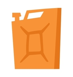 Jerry can vector image