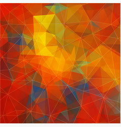 flat background with geometric figures vector image vector image