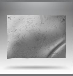 metallic signboard vector image vector image