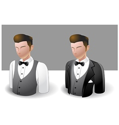 People Icons Men vector image vector image