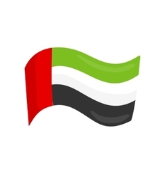 United arab emirates national country flag vector