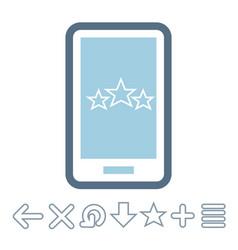 Internet technologies icon vector