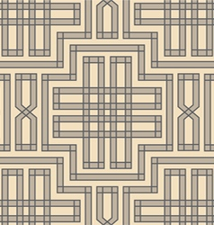 Vintage pattern braid vector
