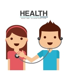 Healthcare concept design vector