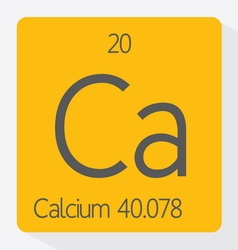 Calcium vector image vector image