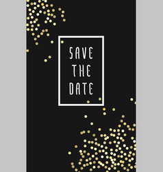 save the date vector image vector image