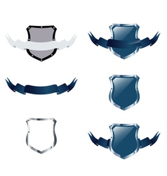 shields collection vector image vector image