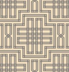 vintage pattern braid vector image