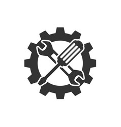 technical support icon vector image