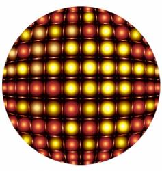sphere light pattern vector image