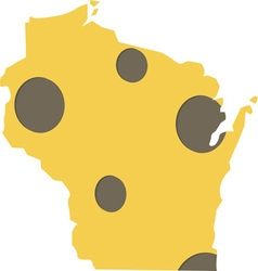 Wisconsin state vector