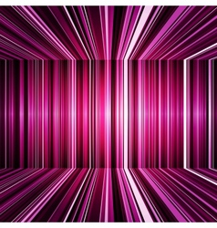 Abstract purple warped stripes background vector