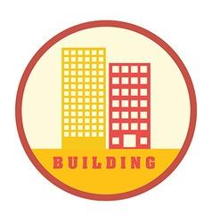 Building design vector image vector image