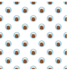 Easter cake pattern vector