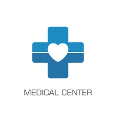 medical center vector image vector image