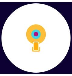 Web camera computer symbol vector