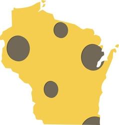 Wisconsin state vector