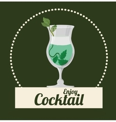 Cocktail icons design vector