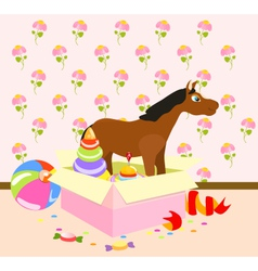 Nursery Toys vector image