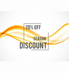 Abstract seasonal sale design background vector