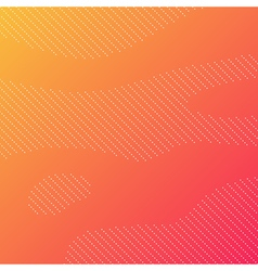 Dotted background with orange gradient vector