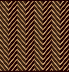 zig zag brown seamless pattern vector image