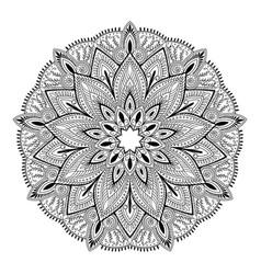 Mandala highly detailed inspired vector