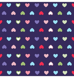 Hearts background valentines day vector
