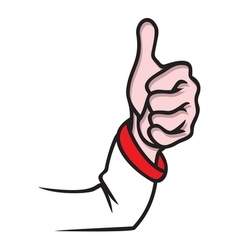 Finger up ok resize vector