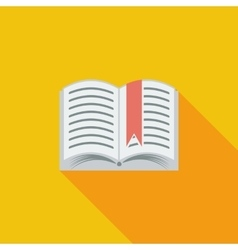 Book single icon vector
